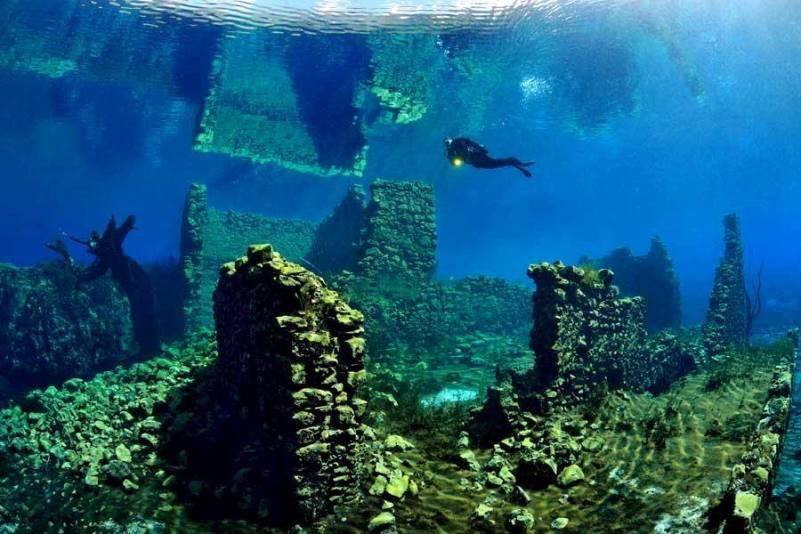 Immersione Diving nel Lago di Capo D\'Acqua