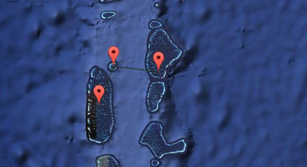 Mappa Maldive