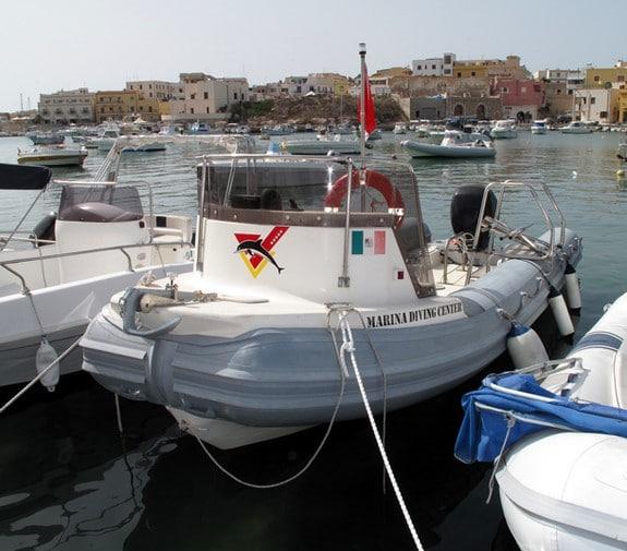 Gommone Marina Diving Lampedusa