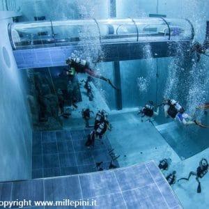 Immersione nella piscina più profonda del mondo a Montegrotto Terme