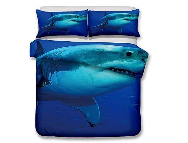 Lenzuola con lo squalo