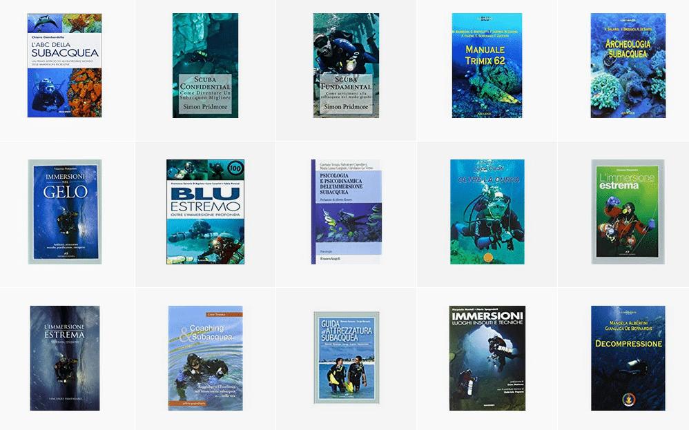 Libri sulla subacquea