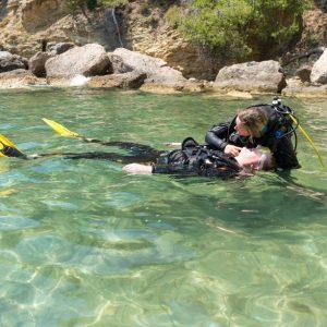 Corsi diving a Lampedusa