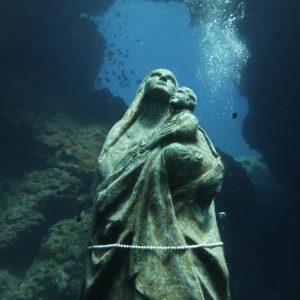 Madonnina subacquea a Lampedusa