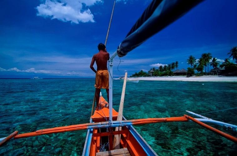 Barca tipica Filippine