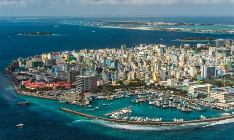 Malé, capitale Maldive