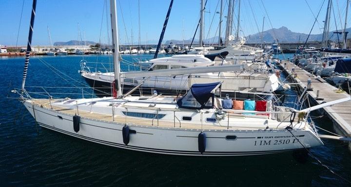 Barca a vela Sailing Bubbles