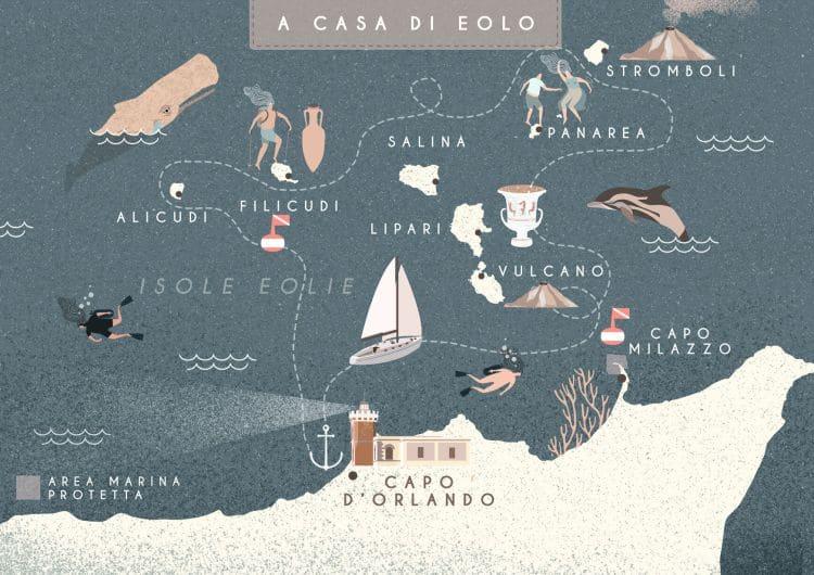 Itinerario crociera in barca a vela