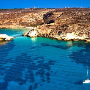 Crociera sub in barca a vela a Lampedusa