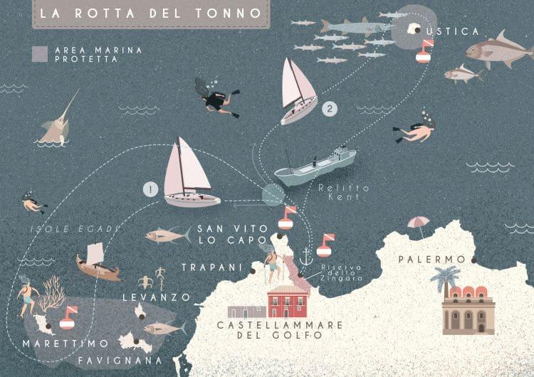 Itinerario: Rotta del tonno