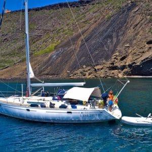 Barca a Vela. Sailing Bubbles