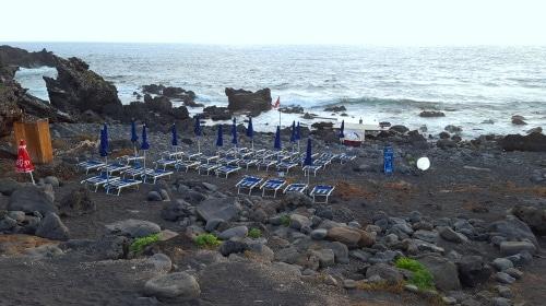 Spiaggia del faro, Ustica