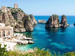 Vacanze in barca a vela, Tonnara di Scopello