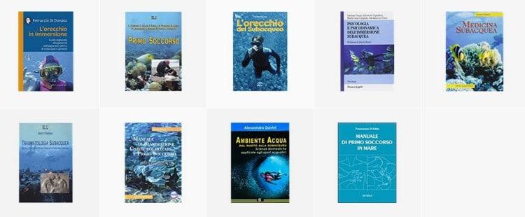 Libri sulla medicina subacquea