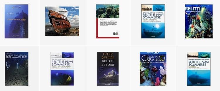 Libri sui relitti subacquei