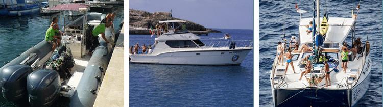 Flotta diving Lampedusa