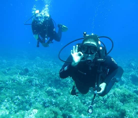 Immersione Lampedusa