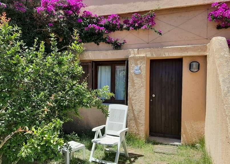 Camera vista giardino Santo Stefano Resort, La Maddalena