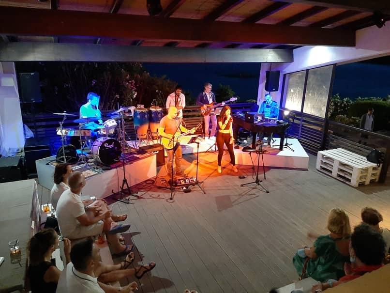 Gnometto Band, Santo Stefano Resort, La Maddalena