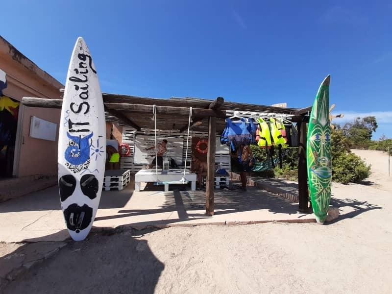 Spiaggia della vela, Santo Stefano Resort, La Maddalena